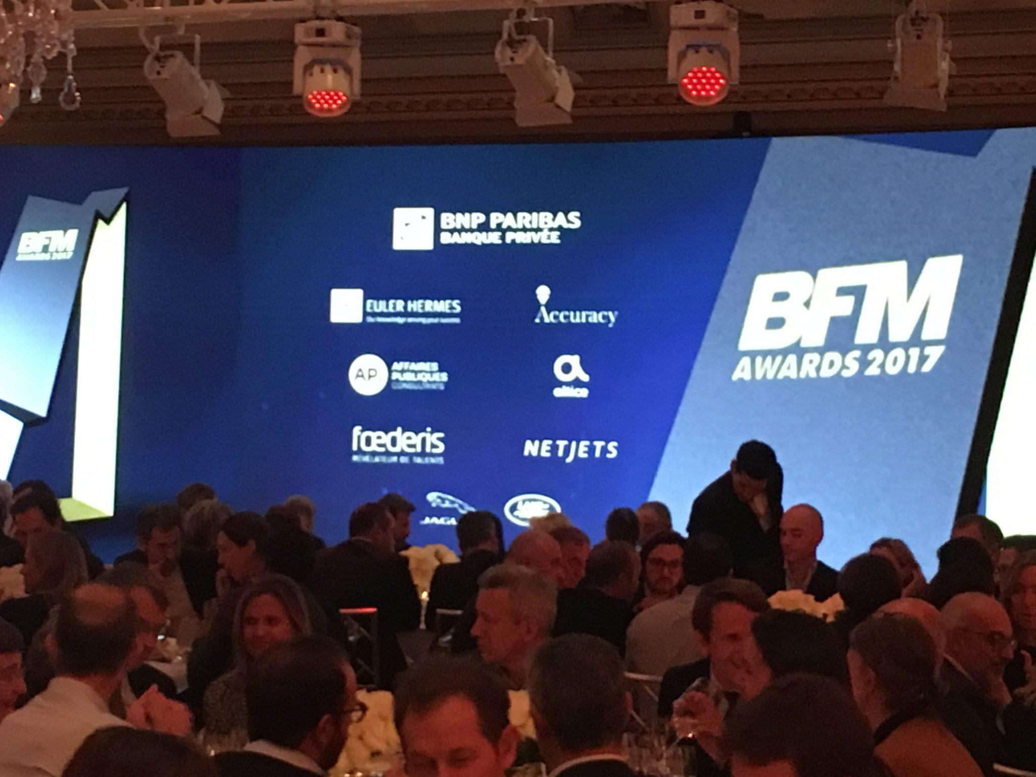 FOEDERIS, éditeur de logiciel de Gestion des Talents partenaire des BFM AWARDS 2017