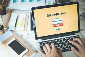 E-learning talent management