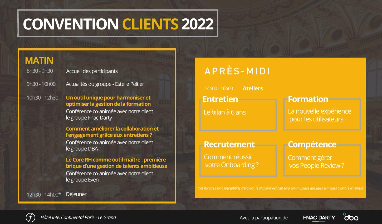 Programme convention clients 2022